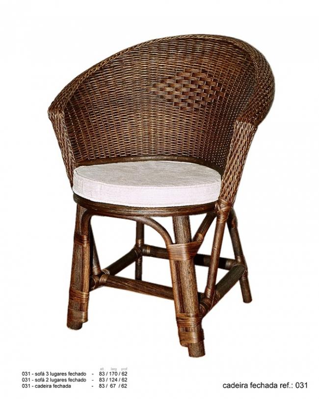Cadeira Junco Fechada Ref: 031