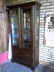 Cristaleira Escovada - 2 portas