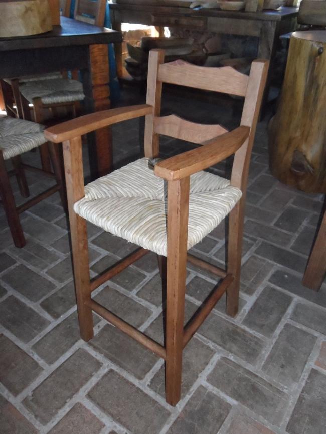 Cadeira Criança de palha