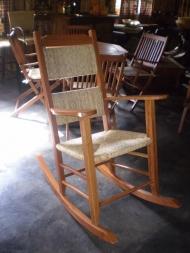 Cadeira Palha Modelo Balanço