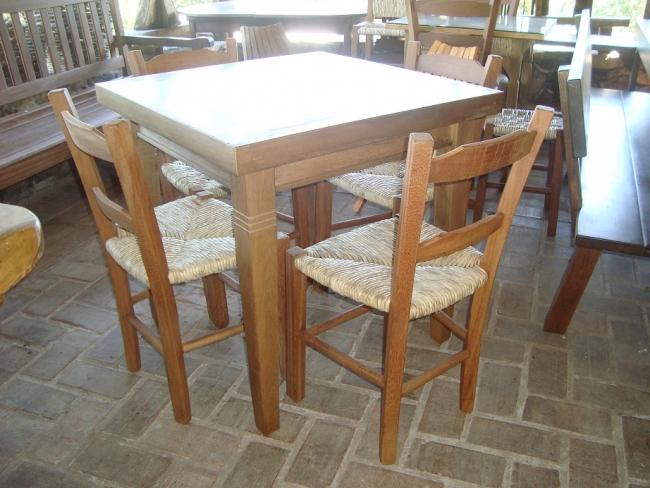 Conj. Mesa com cadeira Lageana