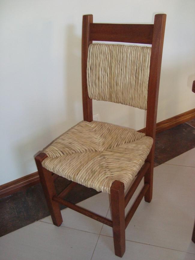 Cadeira Palha Modelo Rio